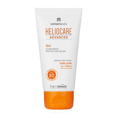 Heliocare Sun Protection Face Gel SPF 50 50ml