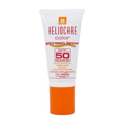 Heliocare Sun Protection Gelcream Color SPF 50 50ml Brown