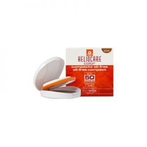 Heliocare Sun Protection Oil Free Compact SPF 50 Brown