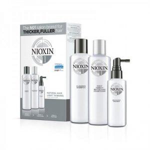 Nioxin KIT Σύστημα 1 XXL (Σαμπουαν 300ml, Conditioner 300ml & Θεραπεια 100ml)