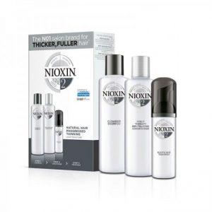 Nioxin KIT Σύστημα 2 (Σαμπουαν 150ml, Conditioner 150ml & Θεραπεια 40ml)