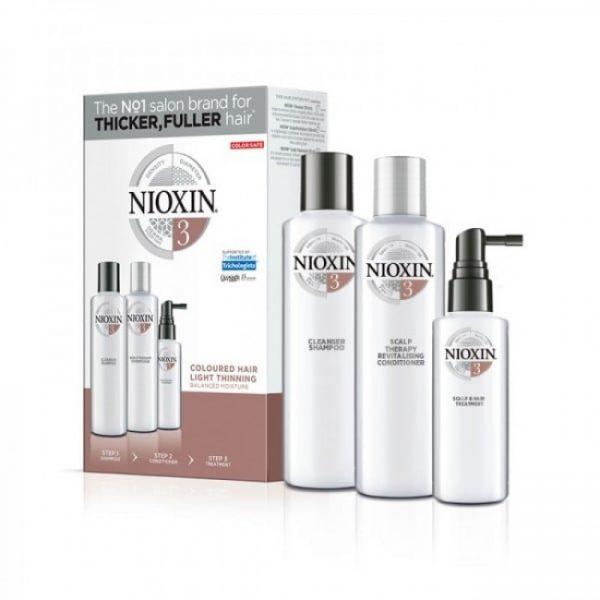 Nioxin KIT XXL Σύστημα 3 (Σαμπουάν 300ml, Conditioner 300ml, Θεραπεία 100ml)