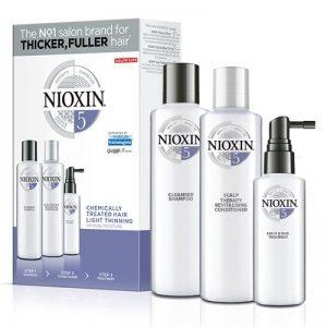 Nioxin KIT XXL Σύστημα 5 (Σαμπουάν 300ml, Conditioner 300ml, Θεραπεία 100ml)